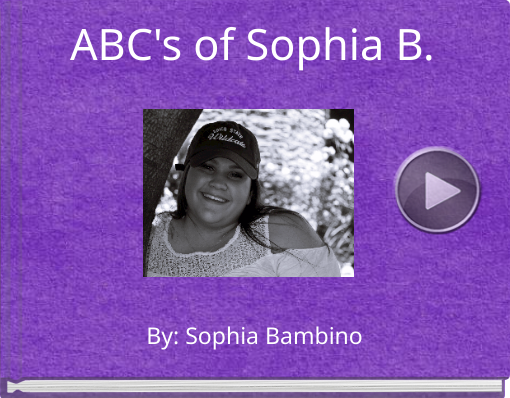 Book titled 'ABC's of Sophia B.'