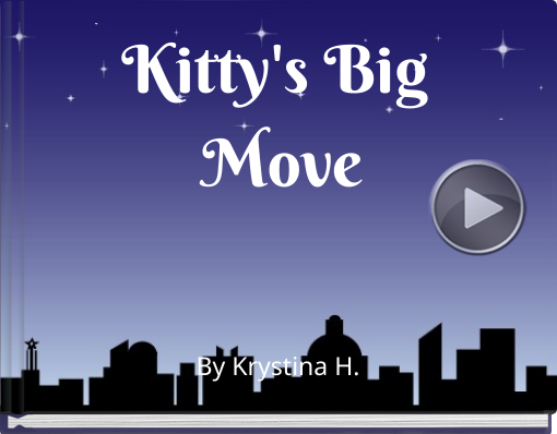 Book titled 'Kitty's Big Move'