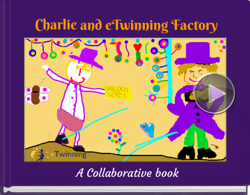 Book titled 'Charlie and eTwinning Factory'