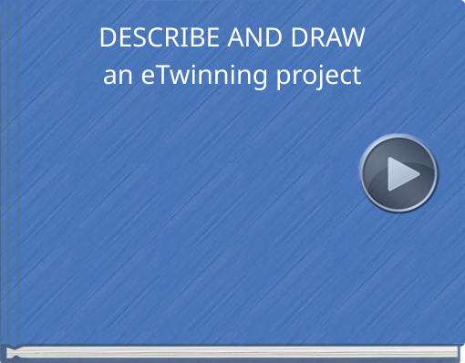 Book titled 'DESCRIBE AND DRAWan eTwinning project'