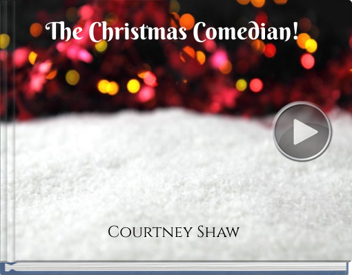 Book titled 'The Christmas Comedian!'