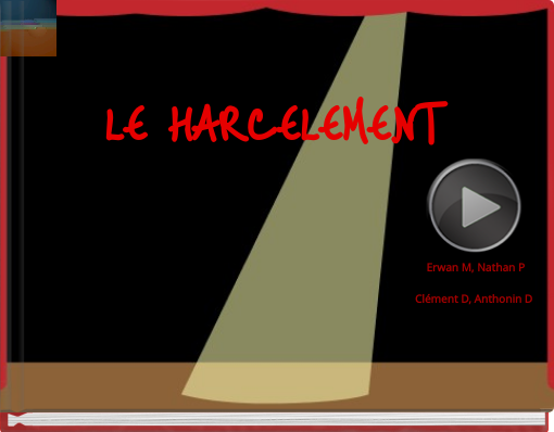 Book titled 'LE HARCELEMENT'