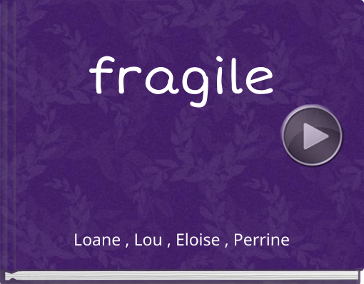 Book titled 'fragile'