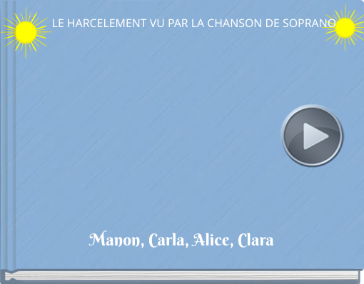 Book titled 'L'HARCELEMENT VU PAR LA CHANSON DE SOPRANO'