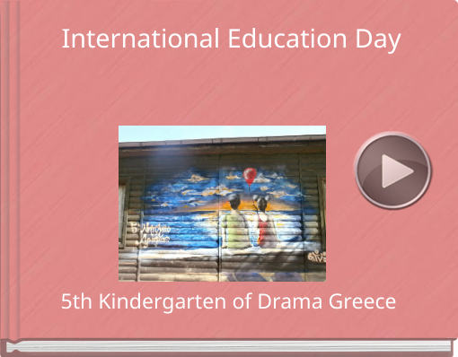 Book titled 'International Education Day'