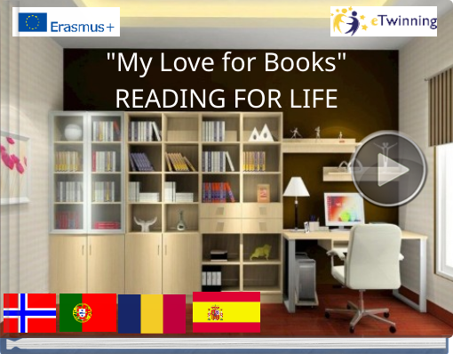 Book titled ''My Love for Books'READING FOR LIFE'