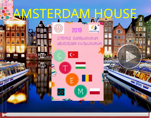 Book titled 'AMSTERDAM HOUSE'