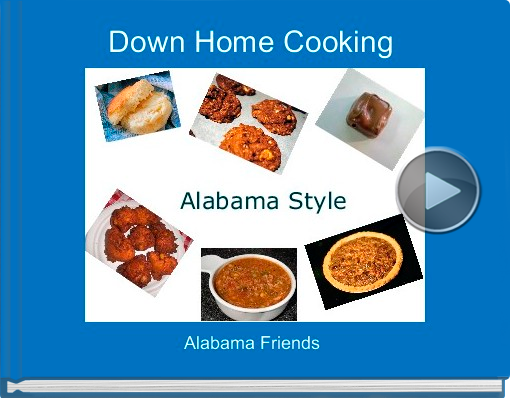Book titled 'Down Home Cooking'