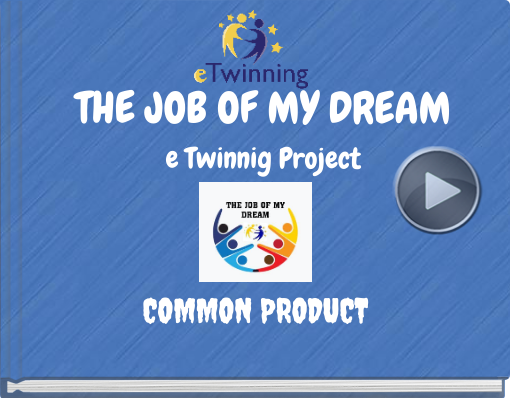 Book titled 'THE JOB OF MY DREAMe Twinnig Project'