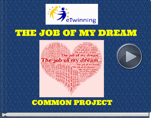 Book titled 'THE JOB OF MY DREAM'