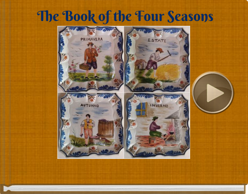 Book titled 'The Book of the Four Seasons'