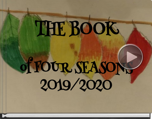 Book titled 'THE BOOK OF FOUR SEASONS2019/2020'