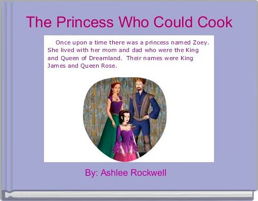 The Princess Who Could Cook