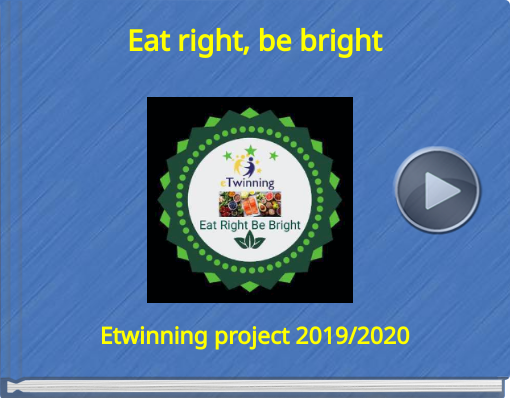 Book titled 'Eat right, be bright'