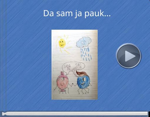 Book titled 'Da sam ja pauk...'