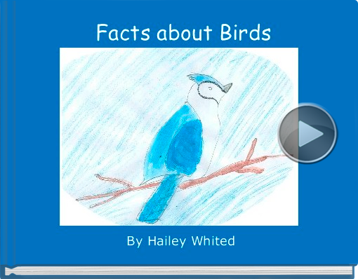 Book titled 'Facts about Birds'
