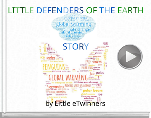 Book titled 'Little Defenders of the Earth'