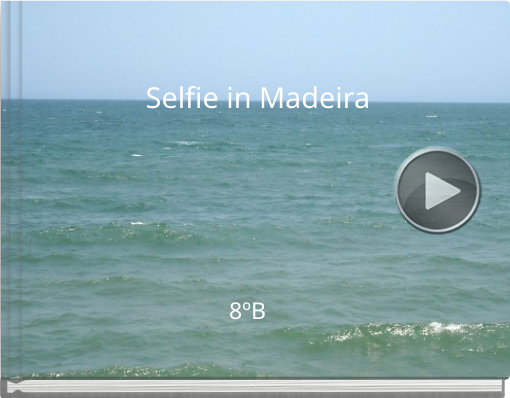 Book titled 'Selfie in Madeira'