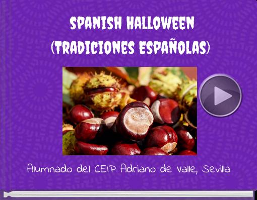 Book titled 'spanish Halloween(Tradiciones Españolas)'