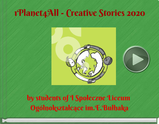 Book titled '1Planet4All - Creative Stories 2020'