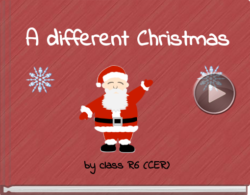 Book titled 'A different Christmas'
