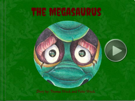 Book titled 'The Megasaurus'