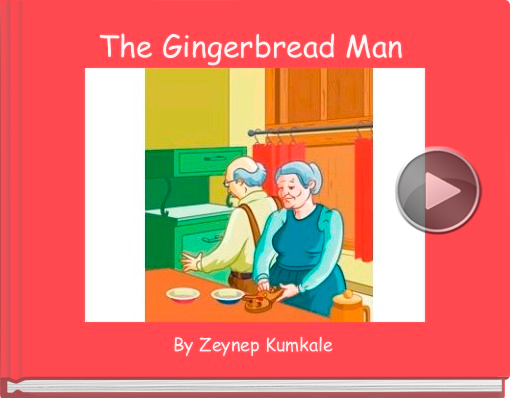 Book titled 'The Gingerbread Man'