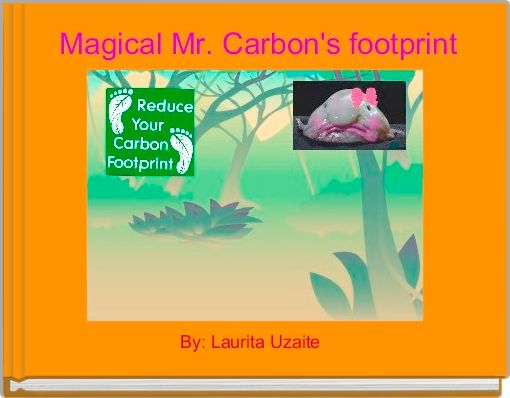 Magical Mr. Carbon's footprint