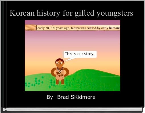 Korean history for gifted youngsters