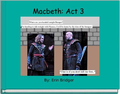 Macbeth: Act 3