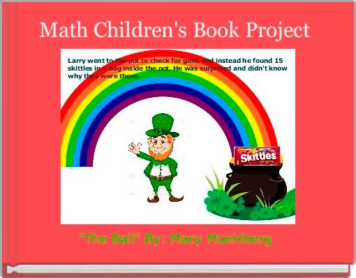 Math Children's Book Project
