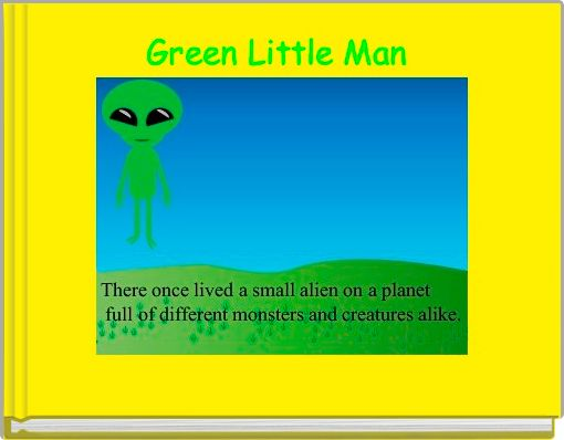 Green Little Man