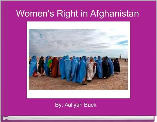 Women's Right in Afghanistan