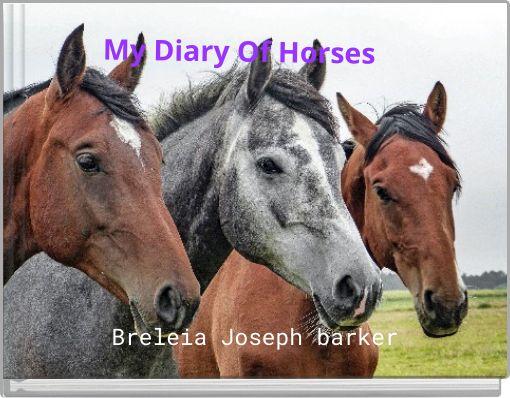 My Diary Of Horses