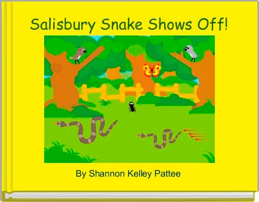 Salisbury Snake Shows Off!