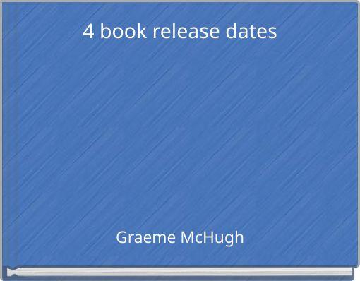 4 book release dates