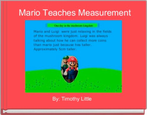 Mario Teaches Measurement