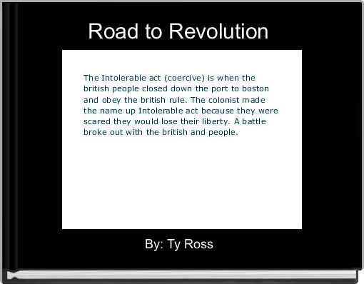 Road to Revolution