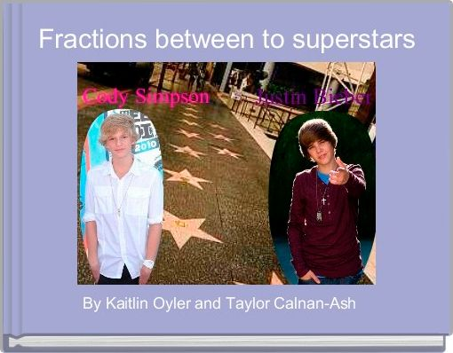 Fractions between to superstars