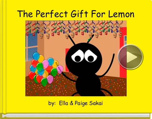 Book titled 'The Perfect Gift For Lemon'