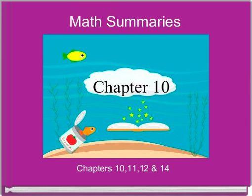 Math Summaries