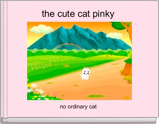 the cute cat pinky
