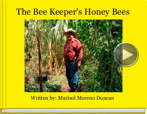 Book titled 'The Bee Keeper's Honey Bees'