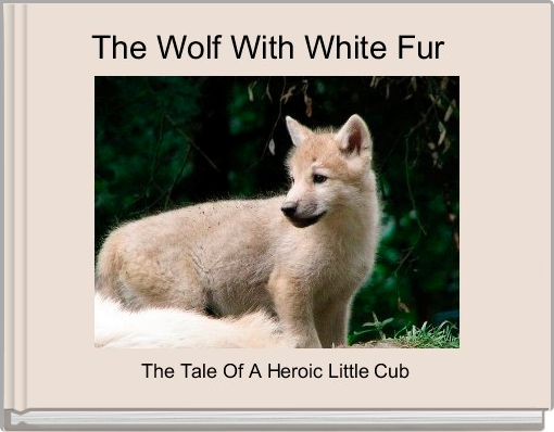 The Wolf With White Fur