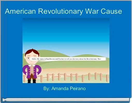 American Revolutionary War Cause