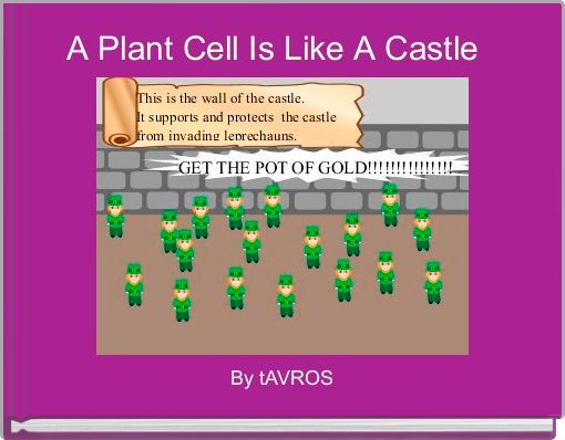 A Plant Cell Is Like A Castle