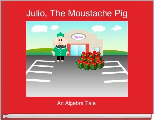 Julio, The Moustache Pig