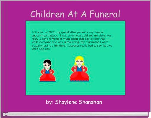 Children At A Funeral