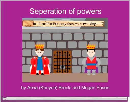 Seperation of powers