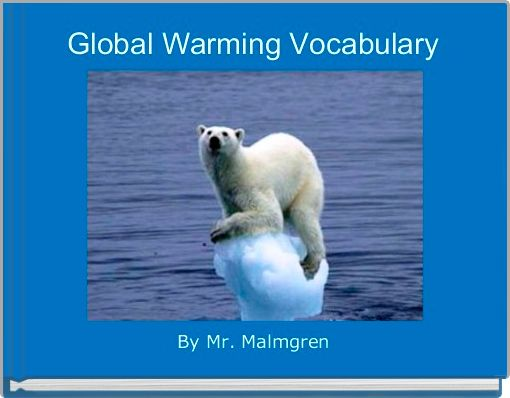 Global Warming Vocabulary